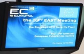 33rd EAST Meeting-1