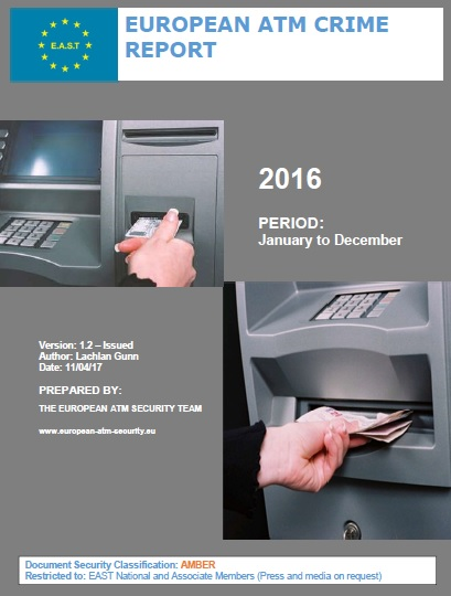 EAST ATM Crime Report 2016 - ATM black box attacks increase