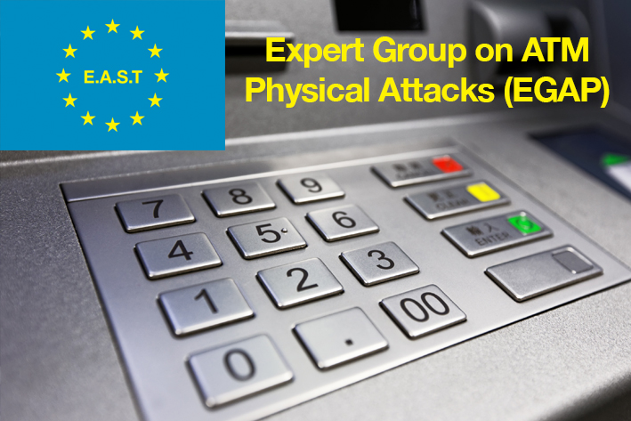 The EAST Expert Group on ATM Physical Attacks (EGAP) - Logo
