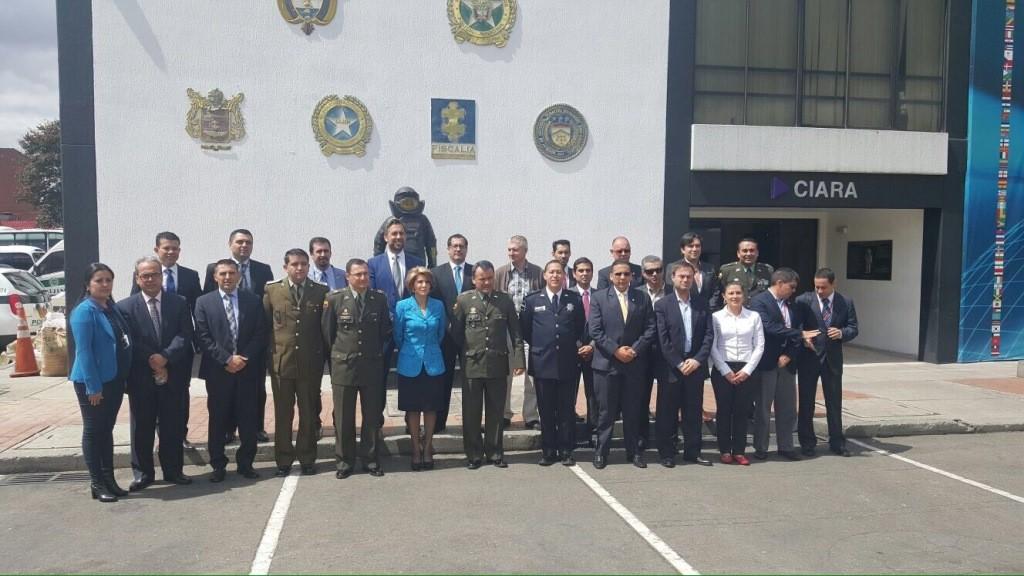 Europol - AMERIPOL - Bogota