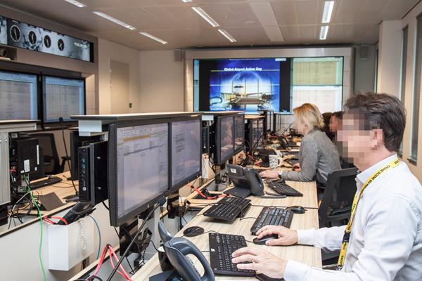 GAAD control room