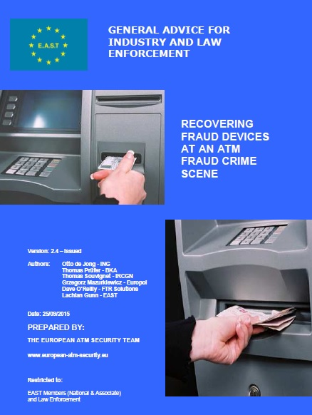Recovering Fraud Devices at an ATM Fraud Crime Scene