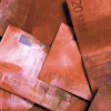 Image shows banknotes stained with dye